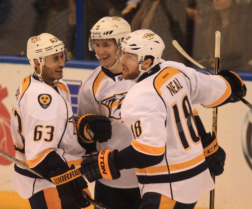 James Neal goal in OT lifts Nashville Predators past Winnipeg Jets