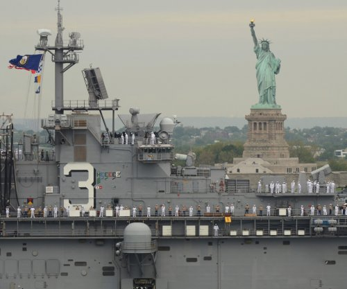 New York kicks off Fleet Week with parade of military ships