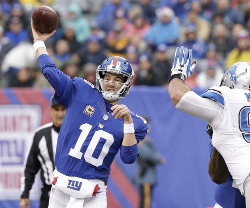 New York Giants QB Eli Manning and WR Brandon Marshall getting on same page