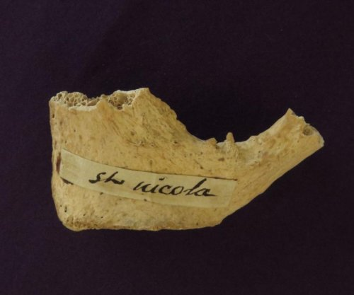 Ancient bones may be from Saint Nicholas, the inspiration for Santa Claus