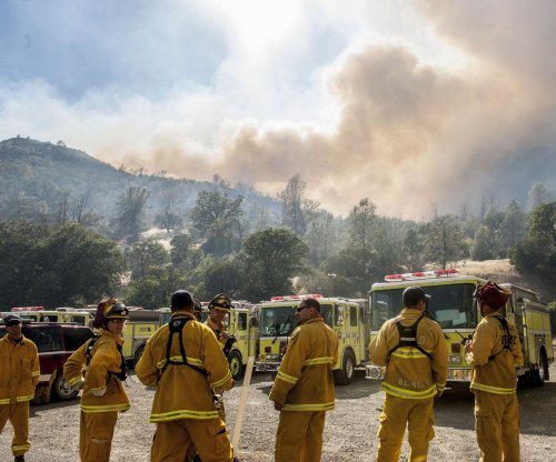 Northern Cal fire now at nearly 50K acres, at least two dozen homes torched