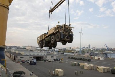 Oshkosh contracted for FMTV vehicles for U.S. Army
