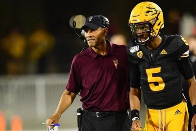 Arizona State head football coach Herm Edwards receives two-year extension