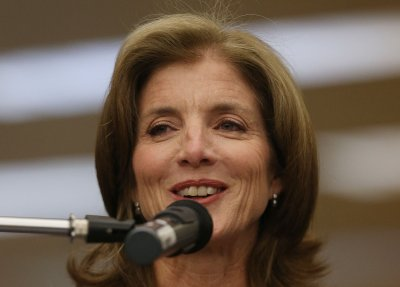 Caroline Kennedy, Japanese vice foreign minister meet