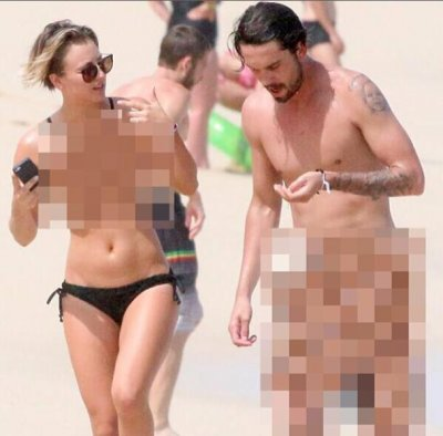 Kaley Cuoco counters nude photo hack with her own snapshot