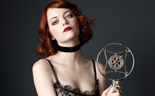 Emma Stone reveals first look as Sally Bowles in 'Cabaret'