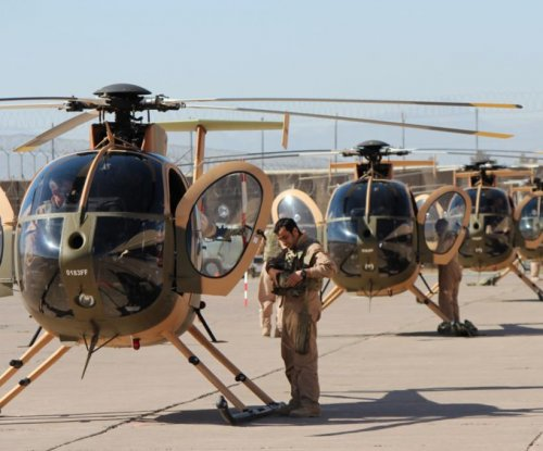 Afghan Air Force receives MD 503F attack helicopters