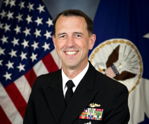 Defense Secretary Carter welcomes new top Navy officer
