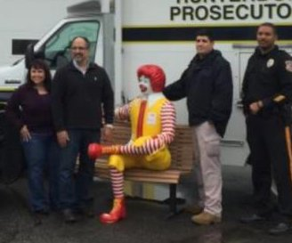 Stolen Ronald McDonald statue returned unharmed in New Jersey