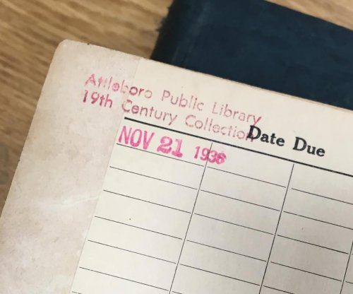 Book returned to Massachusetts library 78 years late