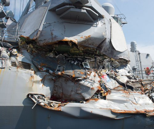 U.S. Navy commanders face homicide charges for crashes that killed 17 sailors