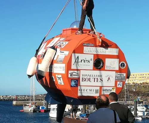 Frenchman attempting to cross Atlantic in a 'barrel'