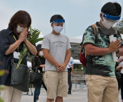 Japan marks 75th anniversary of U.S. atomic bombing at Hiroshima