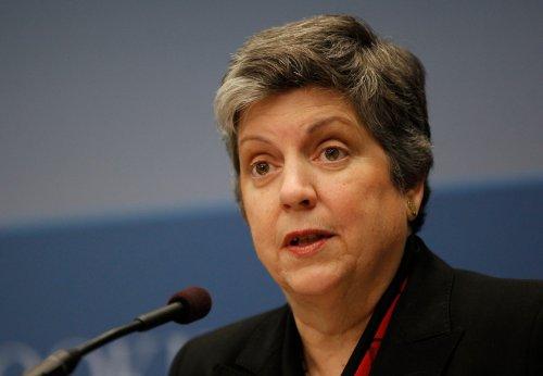 Napolitano evasive on White House run