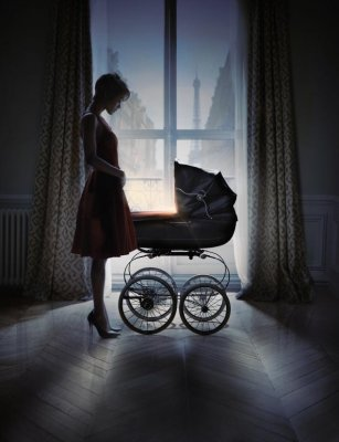 Zoe Saldana stars in new 'Rosemary's Baby' promo art