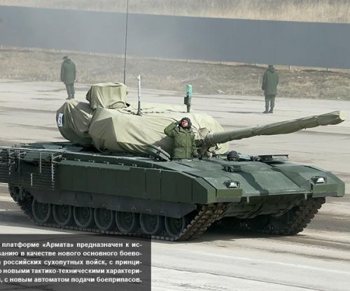 Russia unveils new battle tank ahead of World War II parade