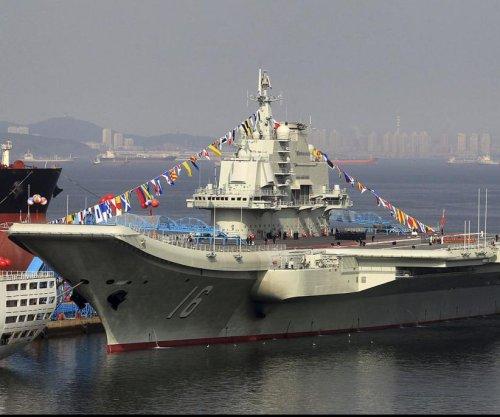 Taiwan scrambles jets as Chinese aircraft carrier sails through Taiwan Strait