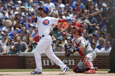Chicago Cubs down St. Louis Cardinals, grab share of first place