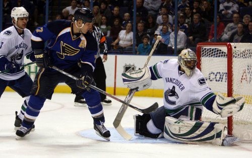 Luongo is this week's No. 1 NHL star
