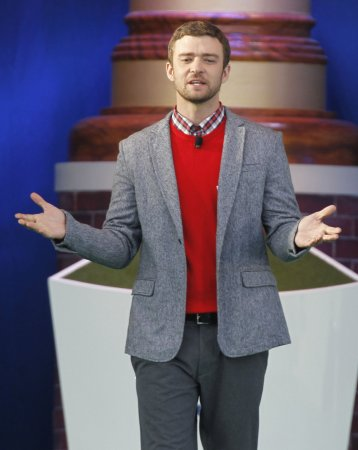 Pop star Justin Timberlake working on new solo album