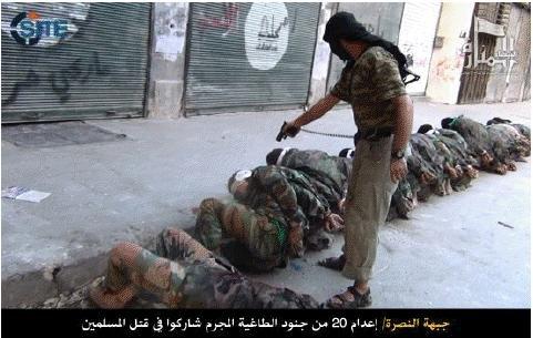 Syrian Al Qaida group executes Lebanese soldier
