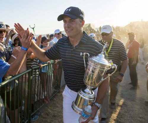 Jordan Spieth eyes third consecutive major title