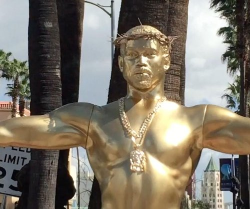 Life-sized Kanye West statue erected on Hollywood Boulevard