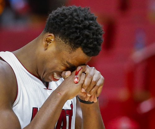 Hassan Whiteside's buzzer-beater tip lifts Miami Heat over Detroit Pistons