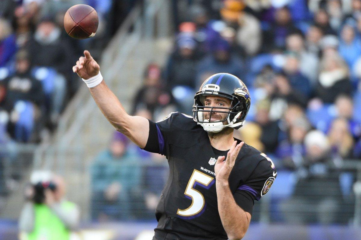 Joe Flacco Baltimore Ravens offense is broken UPI