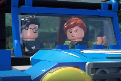 'Lego Jurassic World' series gives tour in new trailer