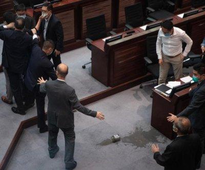 Hong Kong legislature outlaws slander of Chinese national anthem