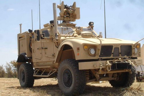 Oshkosh displaying new M-ATV variants