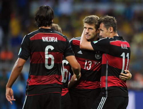 Germany thrashes Brazil 7-1 in World Cup semifinal