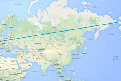 Russian official proposes 12,000 mile, intercontinental superhighway