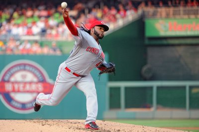 Cincinnati Reds' Cueto shuts out Nationals