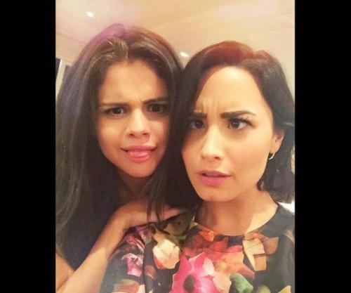 Demi Lovato, Selena Gomez share rare, silly selfie