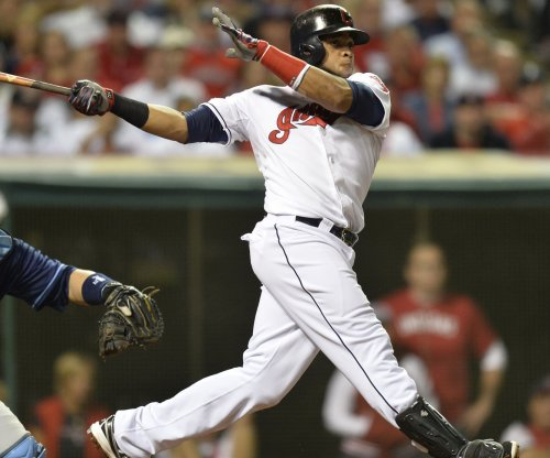 Carlos Santana belts pair of homers as Cleveland Indians jolt Los Angeles Angels