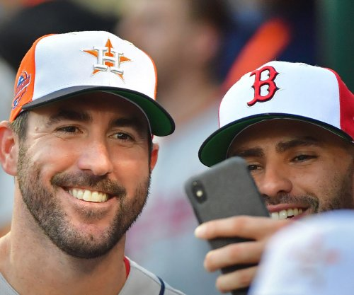 Justin Verlander starts for Houston Astros at Los Angeles Angels