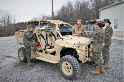 Marines integrate upgrades to off-the-shelf UTVs