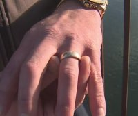 Diver finds gold ring in California river, tracks down owner