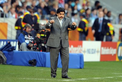 Maradona fired as coach of UAE soccer team