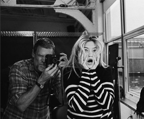 Gigi Hadid teases photo shoot for Victoria's Secret