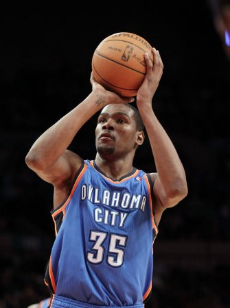 Anthony, Durant named NBA players of week