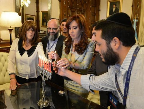 Argentinian President Cristina Kirchner adopts Jewish boy to protect him from werewolf stigma