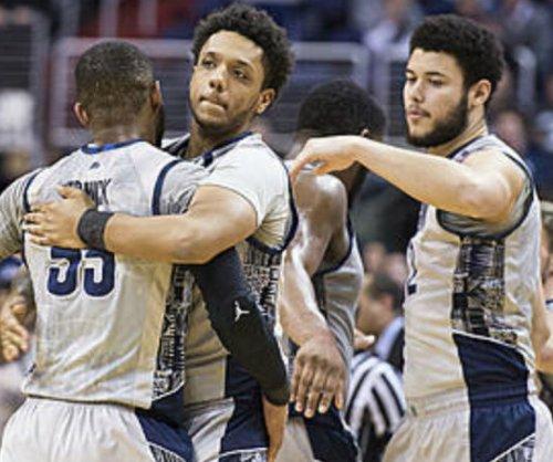 Copeland, Smith-Rivera both score 17 as Georgetown upsets 'Nova