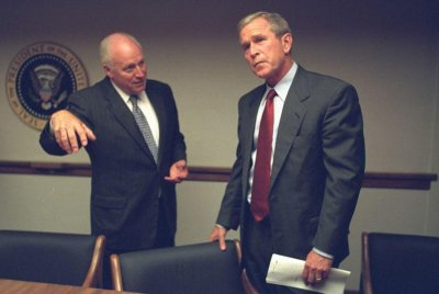 National Archives releases new photos of Bush, White House on 9/11