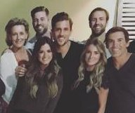Jordan Rodgers, JoJo Fletcher celebrate engagement with family