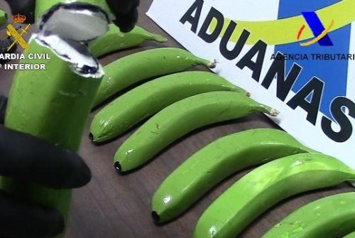 Fruit shipment contained 57 fake bananas filled with cocaine
