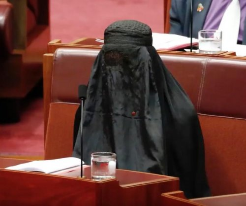 Australian senator condemned for burqa 'stunt'