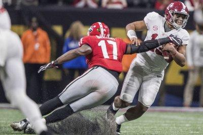 QB battle looms over No. 1 Alabama's opener vs. Louisville
